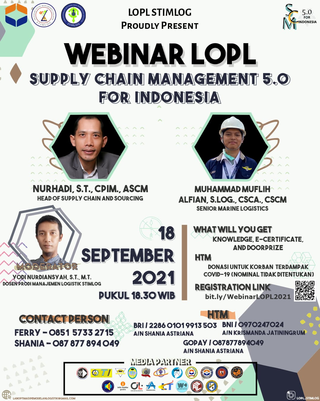 WEBINAR SUPPLY CHAIN MANAGEMENT 5.0 FOR INDONESIA