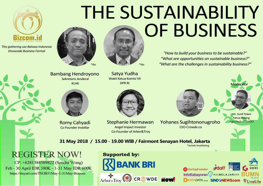 The Sustainability of Business