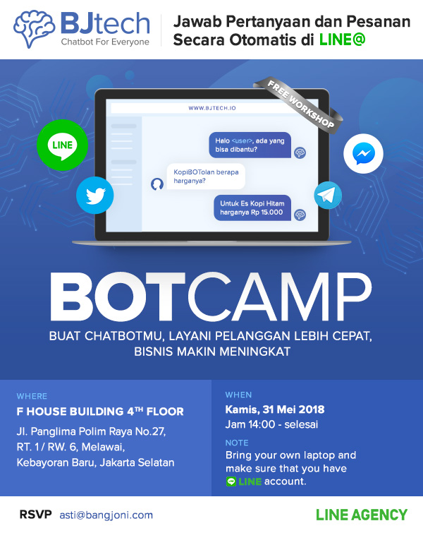 Bisnis Makin Lancar dengan Chatbot di LINE@