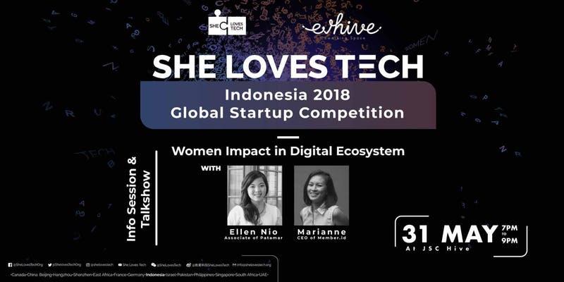 She Loves Tech 2018 Info Session