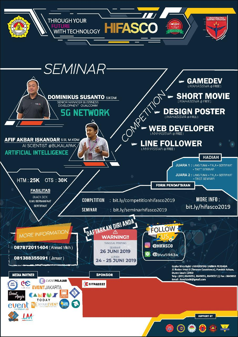 SEMINAR TECHNOLOGY - Through Your Future With Technology