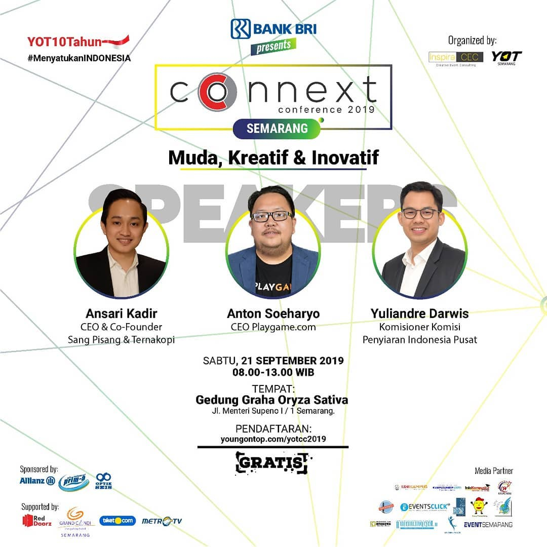 CONNEXT CONFERENCE SEMARANG 2019