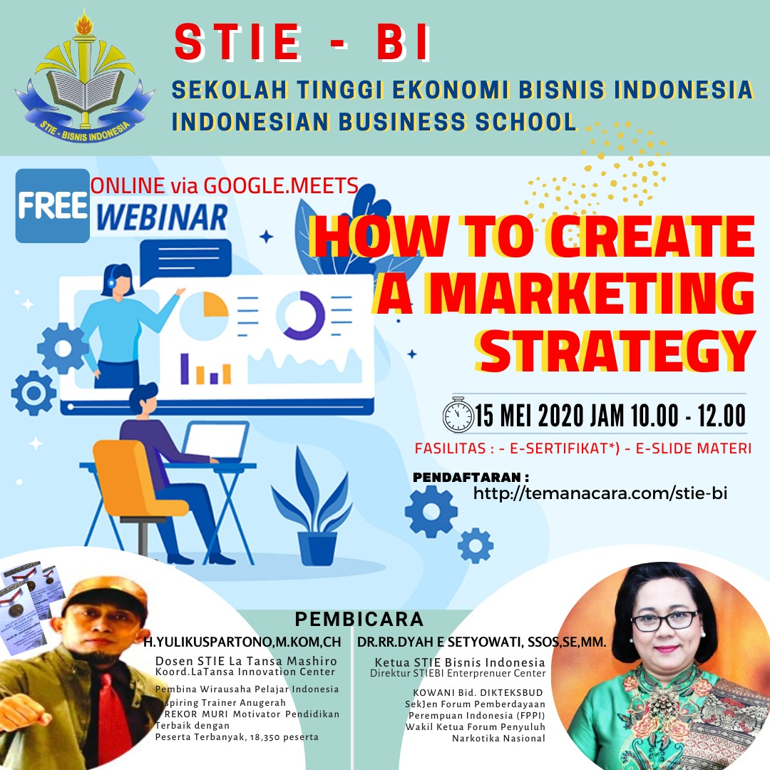 Indonesia Business School: How To Create A Marketing Strategy
