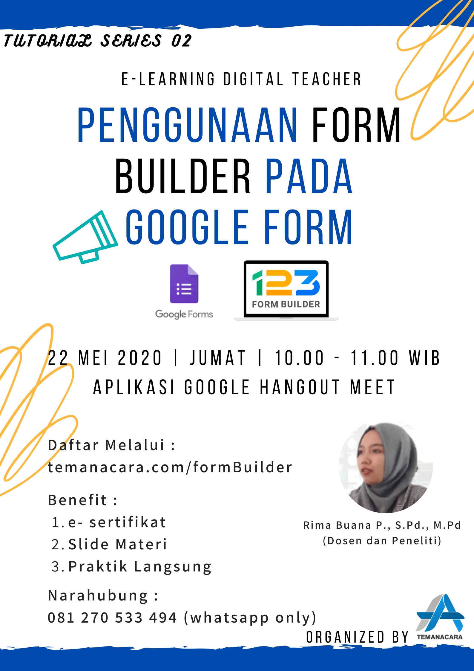 Penggunaan Form Builder Pada Google Form