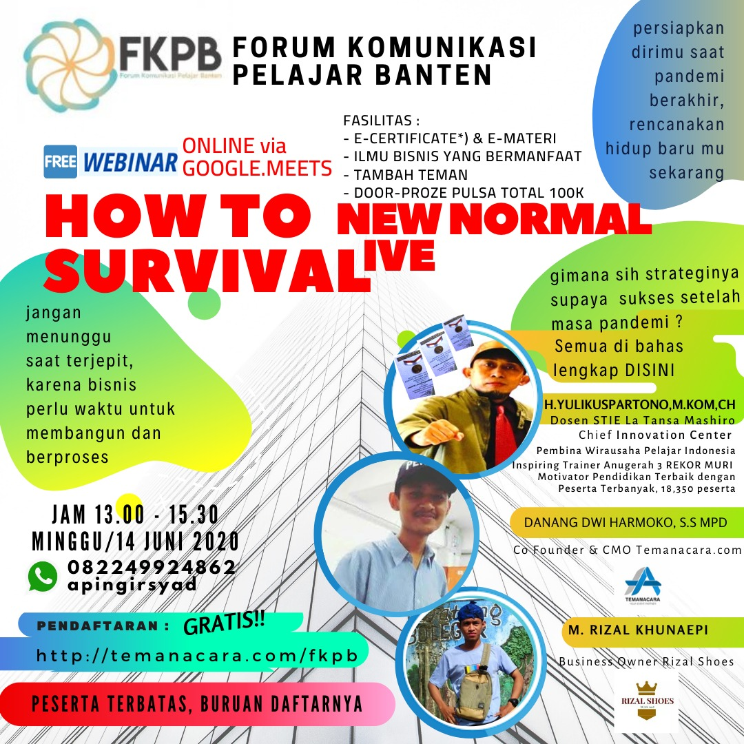 How to Survival New Normal Live