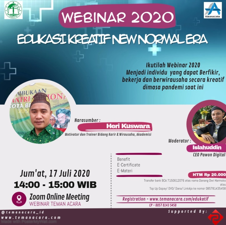 Edukasi Kreatif New Normal Era - Webinar 2020