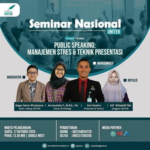 Public Speaking: Manajemen Stres & Teknik Presentasi