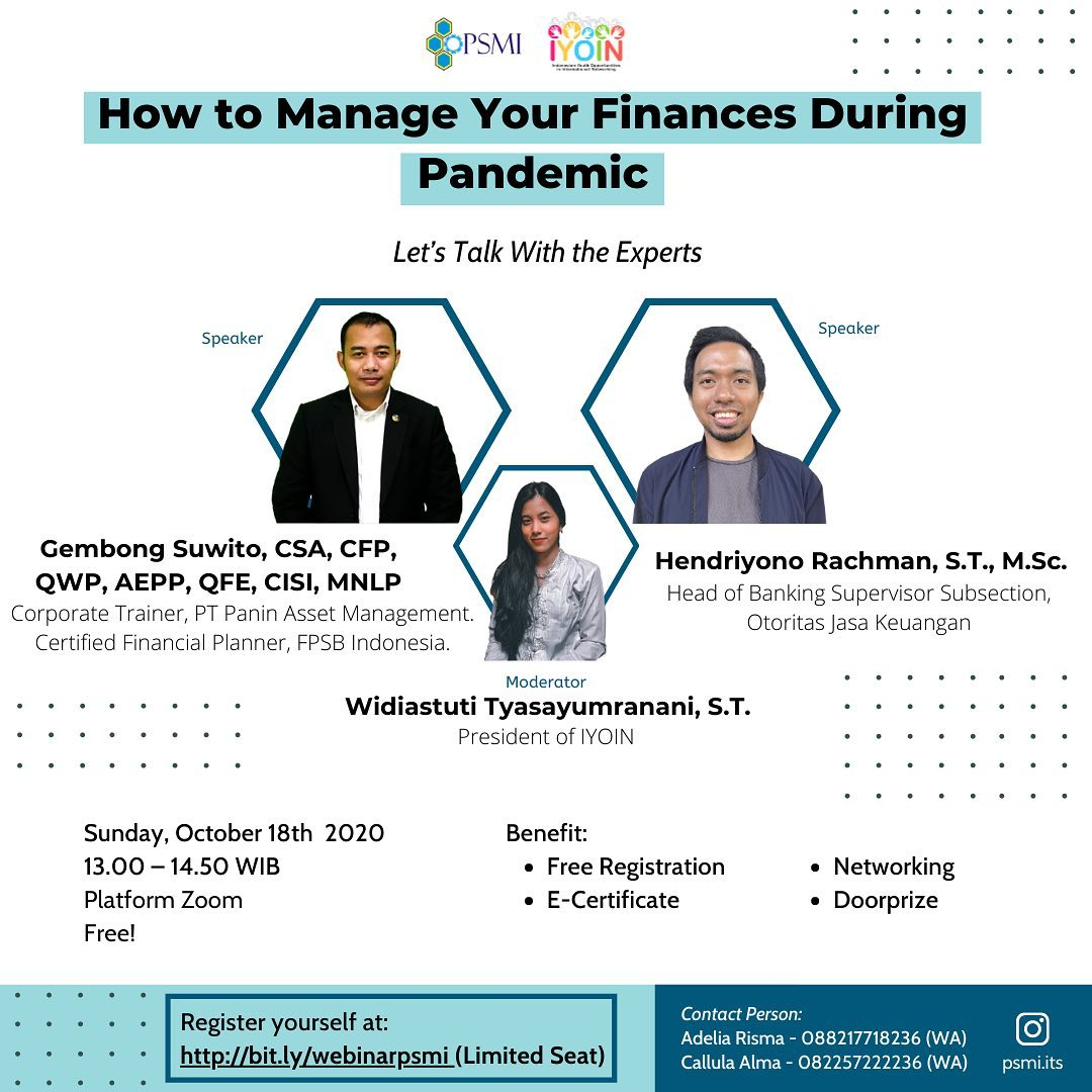 """How to Manage Your Finances During Pandemic"""""""