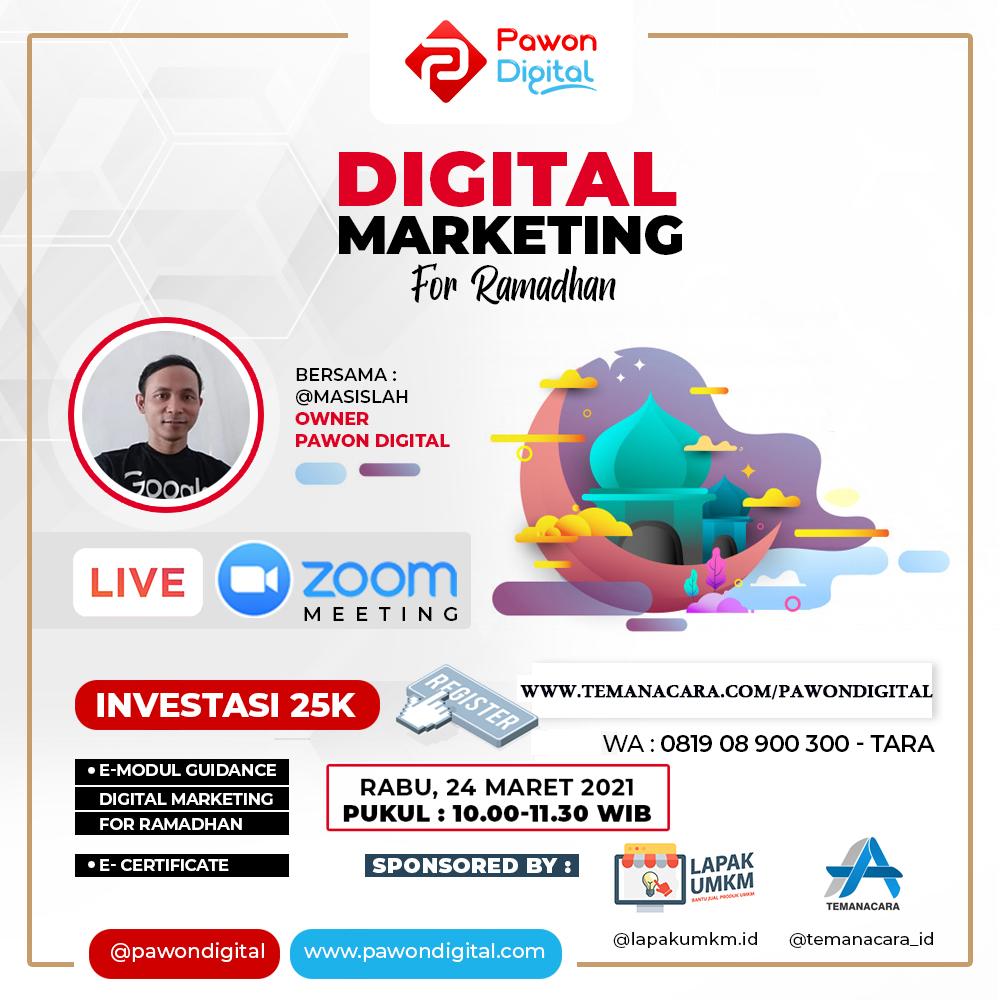Digital Marketing For Ramadhan