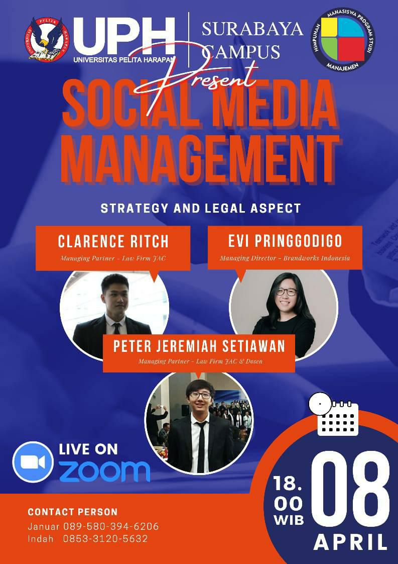 Social Media Management: Strategy and Legal Aspect