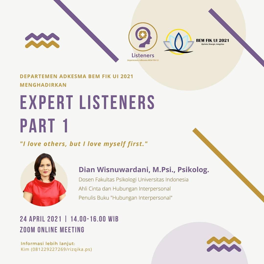 EXPERT LISTENERS PART 1