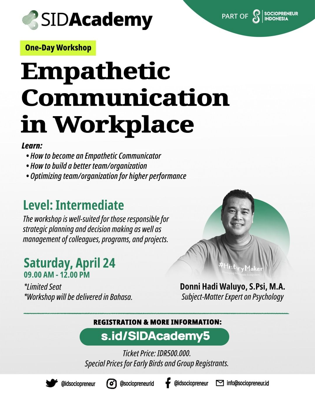 Empathetic Communication in Workplace