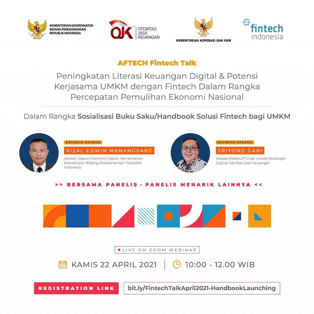 Peningkatan Literasi Keuangan Digital & Potensi Kerjasama UMKM dengan Fintech dalam Rangka Percepatan Pemulihan Ekonomi Nasional