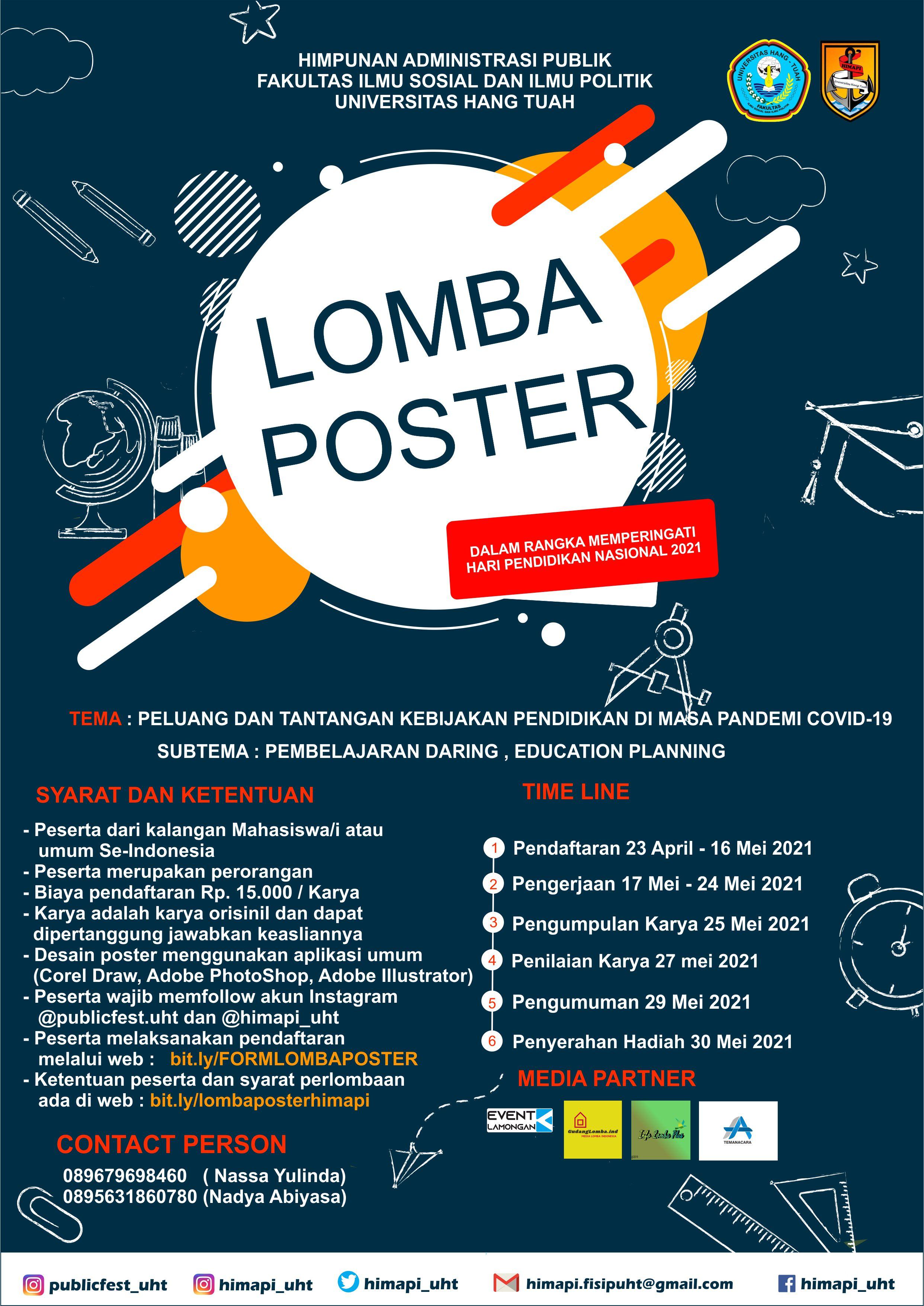 Poster Competition Universitas Hang Tuah Surabaya