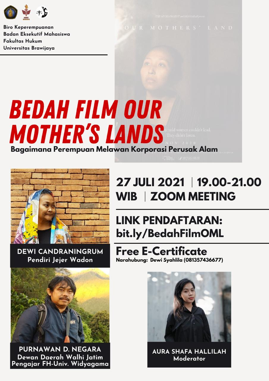 Bedah Film Our Mother's Land